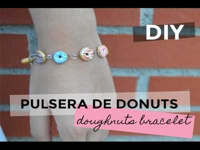 DIY · Pulsera de donuts (polymer clay) | The White DIY