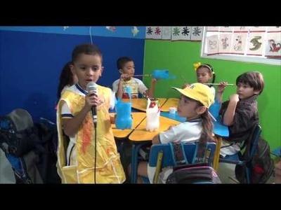 Manualidades en FISHER KIDS transición