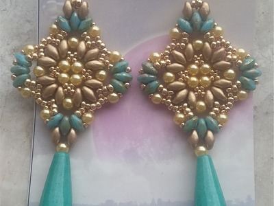 Orecchini Cleopatra (DIY - Cleopatra Earrings)