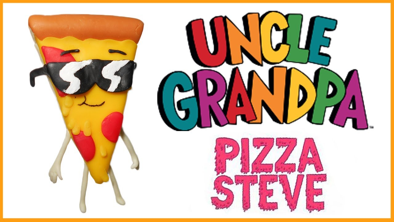 Uncle Grandpa | Pizza Steve Polymer Clay Tutorial | Porcelana Fría