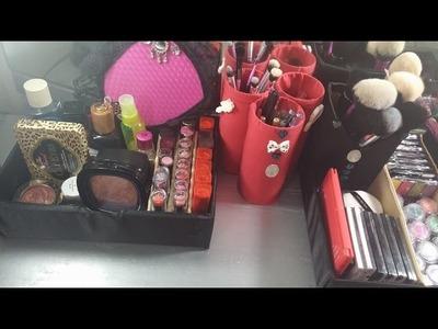 DIY 3 Organizadores de maquillaje.cosmeticos.2015