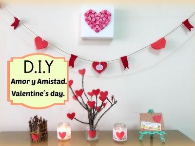 DIY Amor y Amistad, Decora.Decoration for Valentine's Day