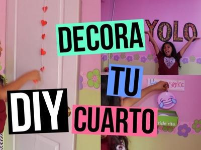 DIY: DECORA TU CUARTO!