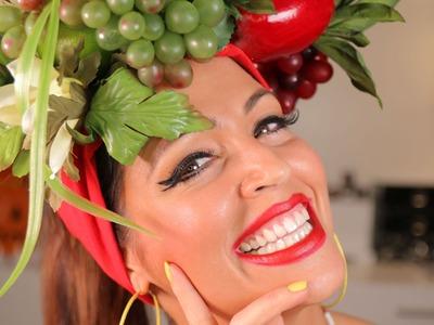 DIY Disfraz Mulata Cubana - Pintate los Labios Maria!