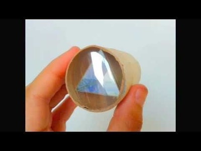 DIY. Kaleidoscope ♥ Manualidades. Kaleidoscopio