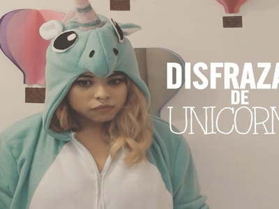 DIY: KIGURUMI UNICORNIO, ANIMAL JUMPSUIT, COSTUME, DISFRAZ UNICORNIO