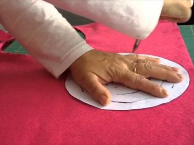 DIY: Portavelas con fieltro en 5 minutos