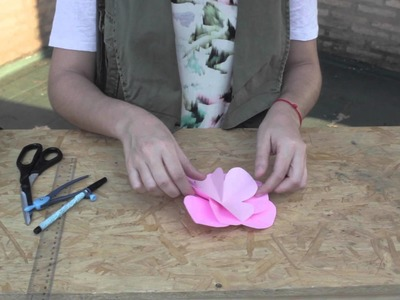 DIY Vincha decorada con Flor ✿ Flower Headband