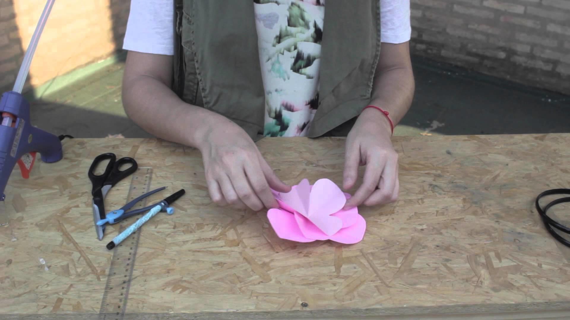 DIY Vincha decorada con Flor ✿ Flower Headband