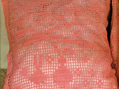 Gráficos para tejer cojines de conejos a crochet