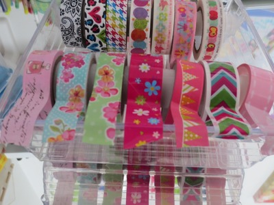 Organizador para washi Tapes | Haz tu Area para envolver regalos