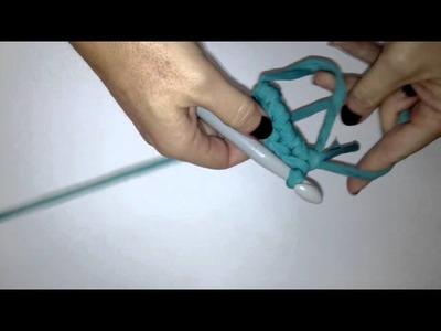Anillo mágico de trapillo en ganchillo XL