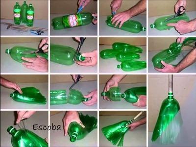Botellas de plástico 10 Ideas para hacer manualidades   YouTubevia torchbrowser com