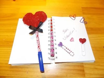 DIY Detalles para San Valentín. Gifts on 14 february. cadeaux  pour le 14 fevrier