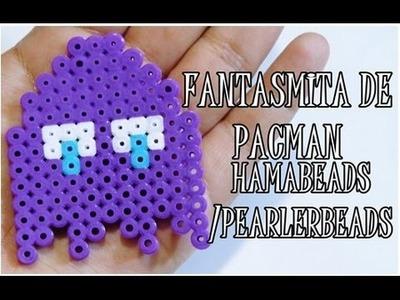 ♥ FANTASMITA PACMAC-HAMA BEADS. PERLER BEADS ♥