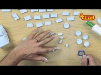 Manualidades - Casa de ladrillo con pasta endurezible