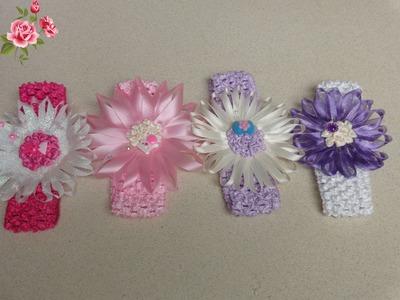 Manualidades de Diademas para niñas(Accessories for hair)