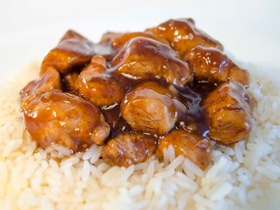 Pollo Agridulce estilo Chino con Salsa de Soja y Miel