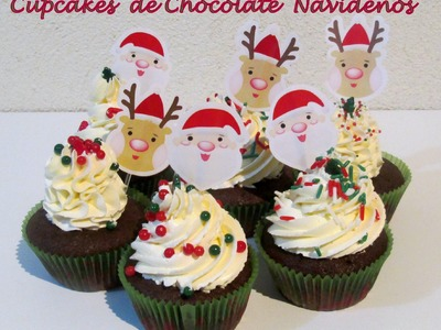 Receta: Cupcakes De Chocolate (Deliciosos Y Faciles) - Silvana Cocina Y Manualidades