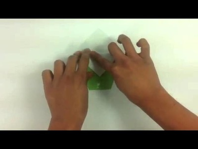 Sombrero de origami - Manualidades con papel