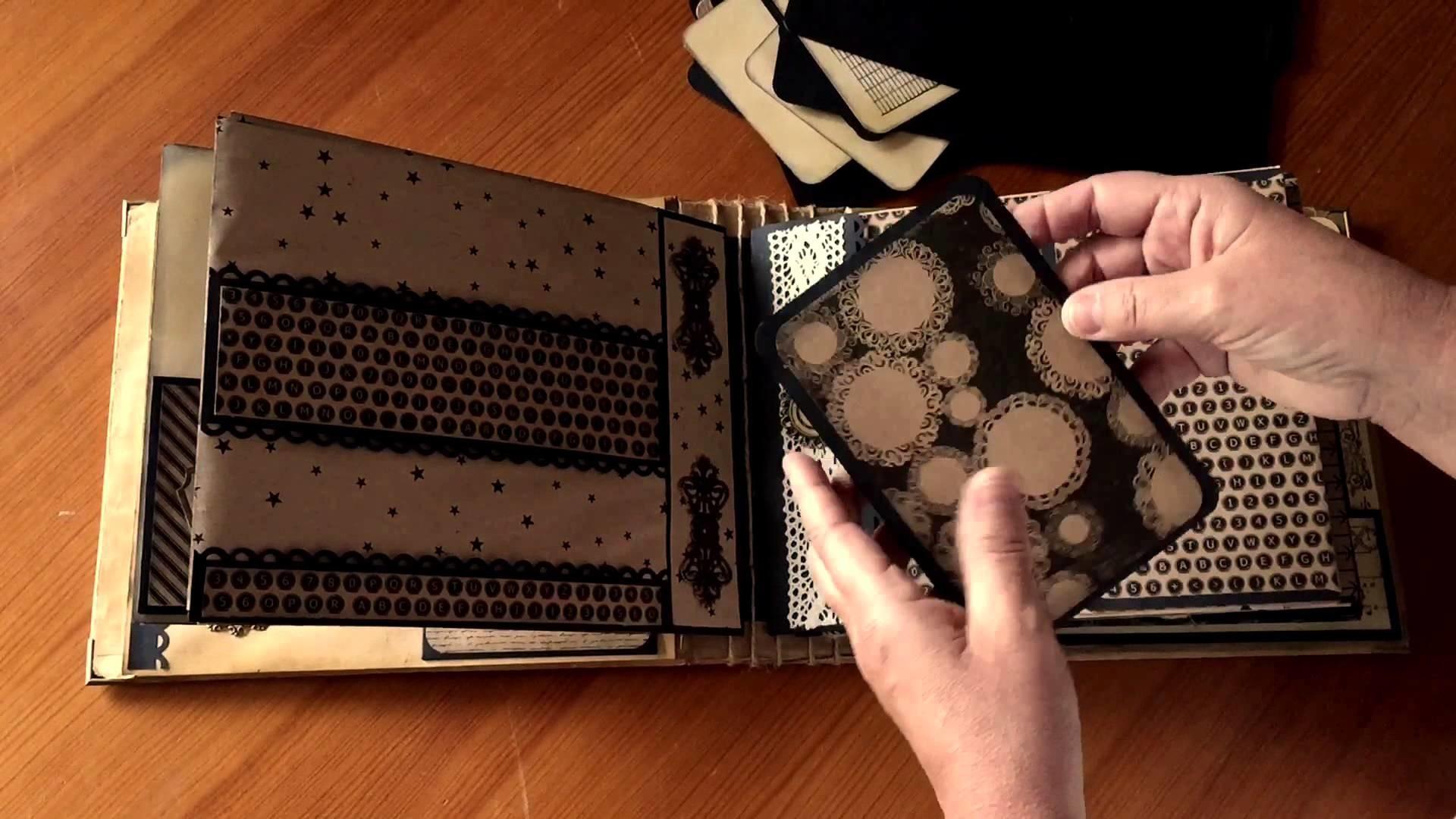 ÁLBUM VINTAGE (Con espina) DIY Scrapbook