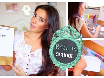 BACK TO SCHOOL ♡ Esenciales, DIY, Tips de Estudio | A Little Too Often