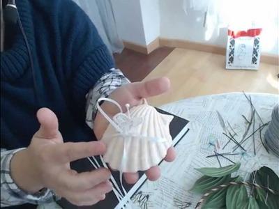 Como se hace una Concha  de Mar en resina porta anillos de Boda  Ibicenca Video 176
