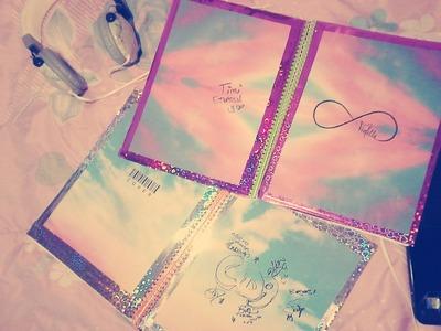 Decora tus cuadernos con CD9  y Violetta ;)