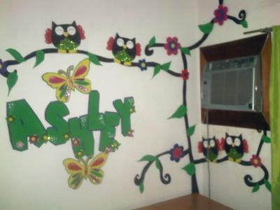 Decoracion para habitacion-búhos
