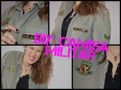DIY Camisa militar