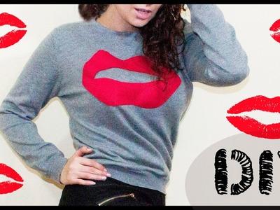 DIY: Kiss Sweater para este San VALENTIN!!!