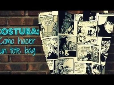 DIY TOTE BAG POP ART PRINT |Como hacer un TOTE BAG