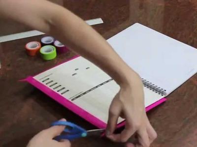 Ideas para decorar tus cuadernos- Arely Téllez