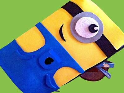 Minion, estuche para lapices. Minion pencil case