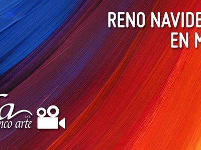 Reno Navideño en MDF