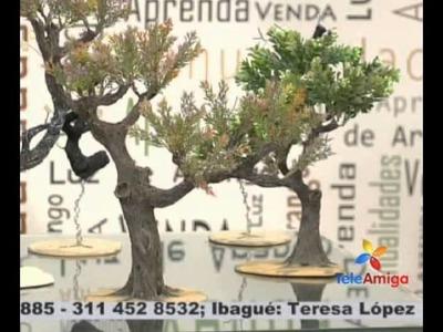 Teleamiga Aprenda y venda Taller de Belén - Flor con bombas