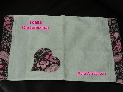 Toalla Decorada (Patchwork) Parte 2.3