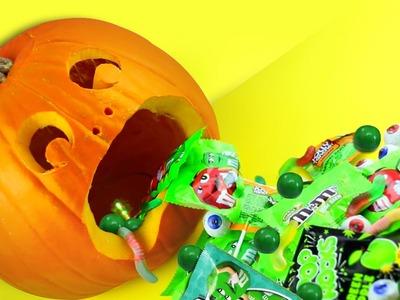 VOMITO DE CALABAZA - Decoración de Halloween Ultimo Minuto!