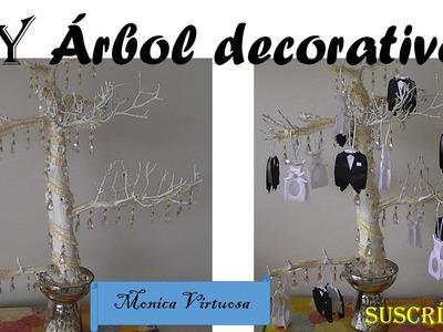 Arbolito decorativo para boda.DIY