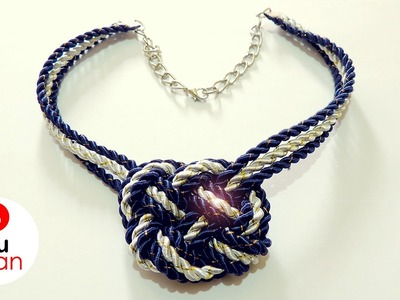 Collar de Nudos - DIY | JuanTu3