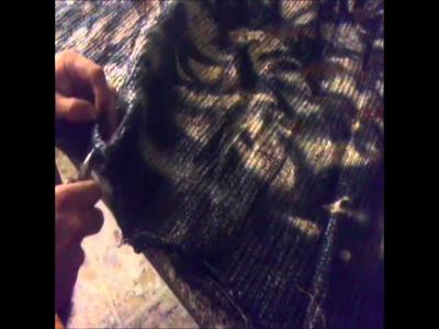 D I Y  CAMO Part 2 Camo Blanket