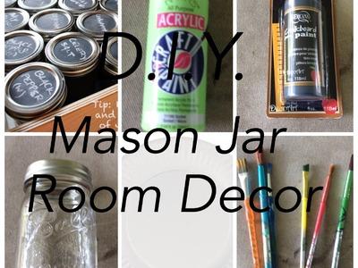 D.I.Y. Mason Jar