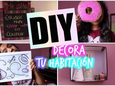 DIY: DECORA TU HABITACION ❤️ - Johanna De La Cruz
