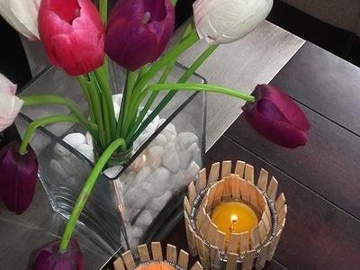 DIY Decoración de Velas Rústicas   El Blog de Habith