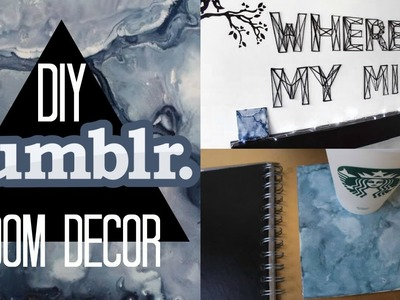 DIY Decoración para tu recámara Tumblr | DIY Tumblr Inspired Room Decor | ANTONIO VALDEZI