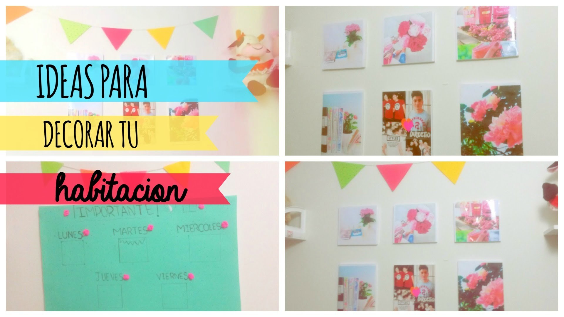 Diy ideas para decorar tu habitacion cuarto alediytips for Tips para decorar tu cuarto