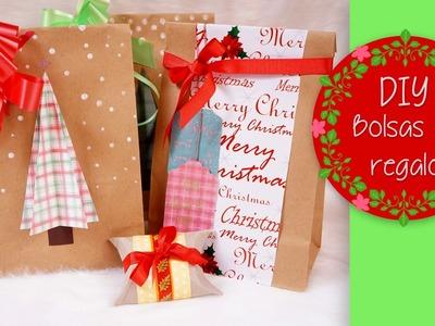DIY NAVIDEÑO: Bolsas de regalo hechas por ti. Video Colaboración con AdriMani & Daans97
