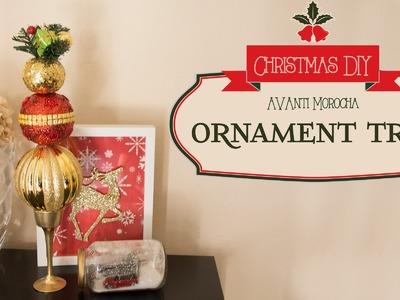 DIY Ornament Tree. Arbol de Ornamentos Navideños