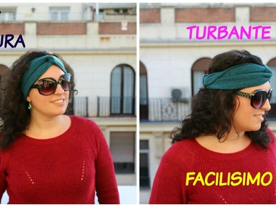 DIY TURBAN FOR SUMMER | Como hacer un TURBANTE FACILISIMO