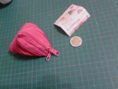 Tutorial: Bolsa de zipper TRIANGULAR Ö